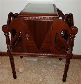 Exquisite antique accent table