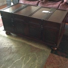 Gorgeous Trunk/Coffee Table with Sliding Top