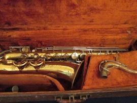 Antique Parisian Tenor Sax
