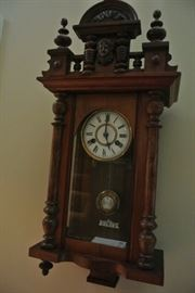 CHIME WALL CLOCK WITH LOVELY DETAIL