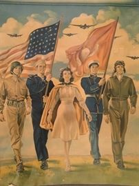 Early Military recruiting poster