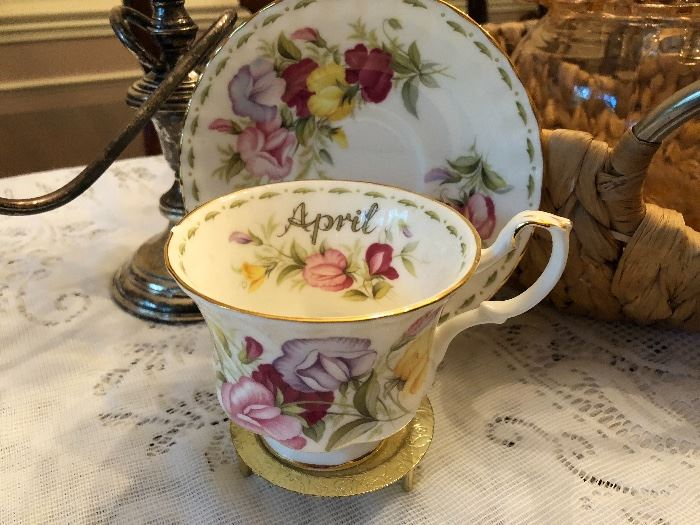 fine bone china Cup and Saucer