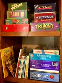 board games Taboo Yahtzee Pictionary Scattergories Cranium and more