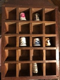 Thimbles in Thimble case