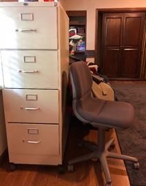 file cabinet ~ office chair