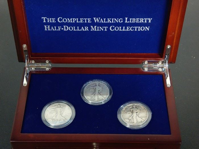 Several Hundred coins to be sold of all kinds.  The following photos are for example only.