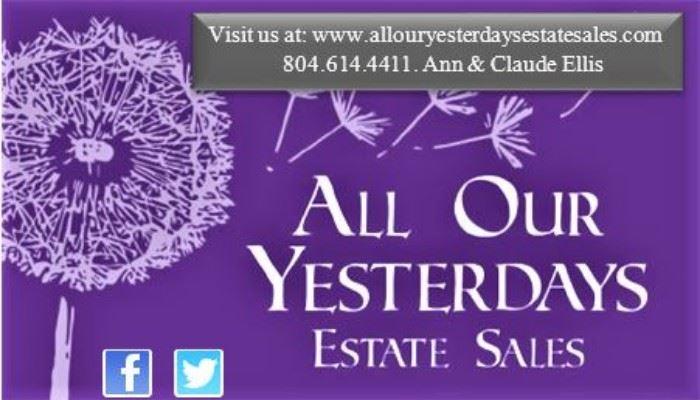 www.allouryesterdaysestatesales.com