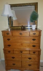 Vintage C.B. Atkin Co. Chest of Drawers