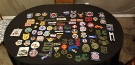 Patches! Many not pictured