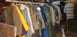 Military Dress Shirts, Jackets, Jumpsuits, Winter Wear