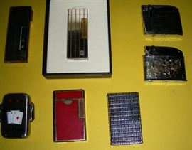 A few of the non-Zippo lighters