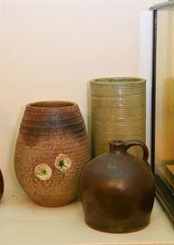 Stoneware Jug, Studio Pottery