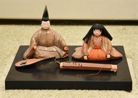 Japanese Hina Ningyo Dolls
