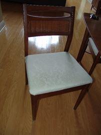 Set of 6 Danish Modern Mahogany chairs