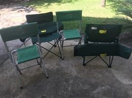 Masters recent model and vintage folding chairs