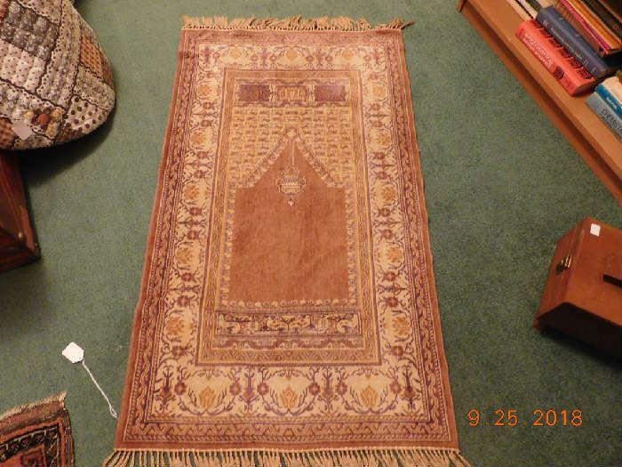 Antique Persian rug.