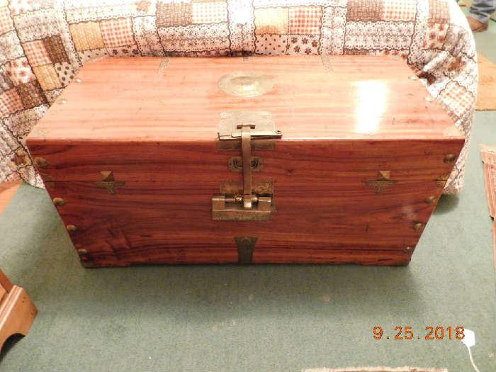 Cedar oriental chest