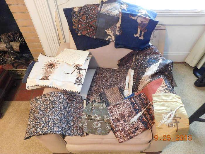 Vintage Batik fabric.