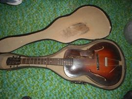 THIS HAS BEEN REMOVED FROM THE SALE BY THE FAMILY. 1930s-40s Gibson Acoustic Guitar L-50