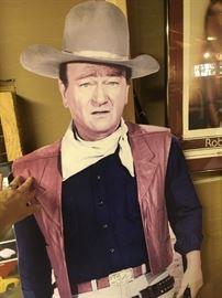 John Wayne life-size cardboard figure