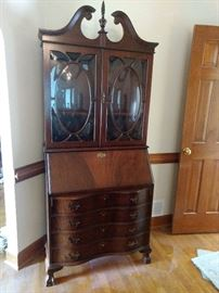 This secretary is beautiful and in excellent condition!