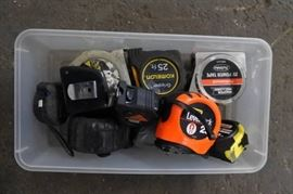 1 Lot of Measuring Tapes