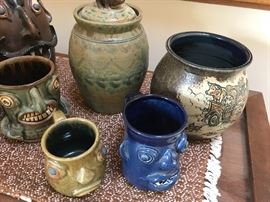 Leftwich pottery