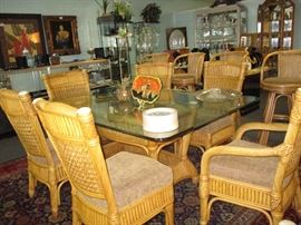 Dining table and 6 chairs - purchased at Antonelli