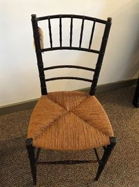 Early Rush Seat Chair