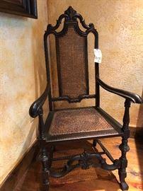 English Oak Arm Chair