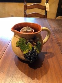 Wine Pitcher with Ice Chamber