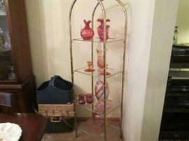 Pink Fostoria Glass