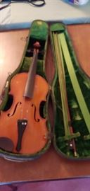 Violin with bow--we have two.