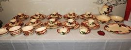 SELLING AS A SET  FRANSCICAN APPLE CHINA SET