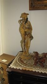 Huge selection of Thai / Philippines hand carved statues.