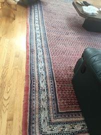 Large Oriental Rug handmade