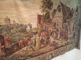 Handmade from Europe tapestry Same as previous picture