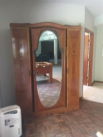 antique wardrobe closet $200