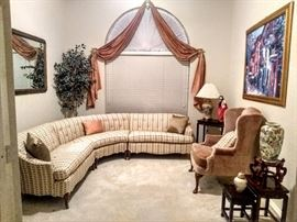 Lovely view of front entrance to Formal Living room