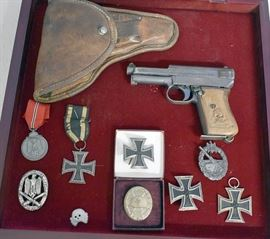 At 11AM: Estate Firearms, Military & Sporting Auction