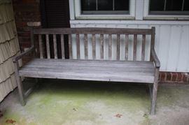 Long Outdoor Garden Bench