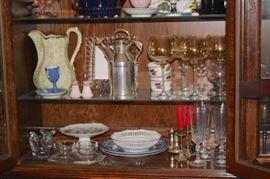 Assorted Decorative Serving Pieces