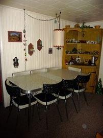 Mid -century table / chair set