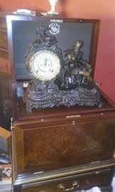 Vintage clock bronze