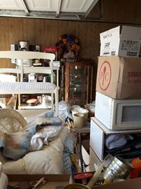 Furniture, microwave and misc