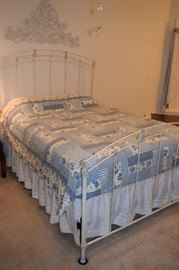 Gabrielle 2004 Cast Iron Bed Queen Size