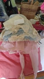 Vintage clothing and aprons