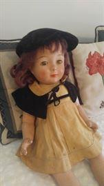Vintage madam Alexander doll full-size