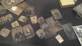 Tin type photos