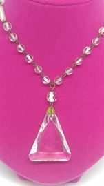Art Deco prism necklace all original